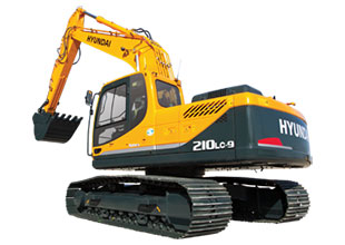 Гусеничный экскаватор Hyundai R210NLC-9S аренда