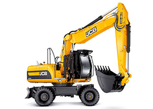 Колесный экскаватор JCB JS160W