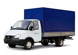 аренда тентованного грузовика 3 тонны