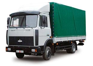 грузовик тентованный 5 тонн аренда